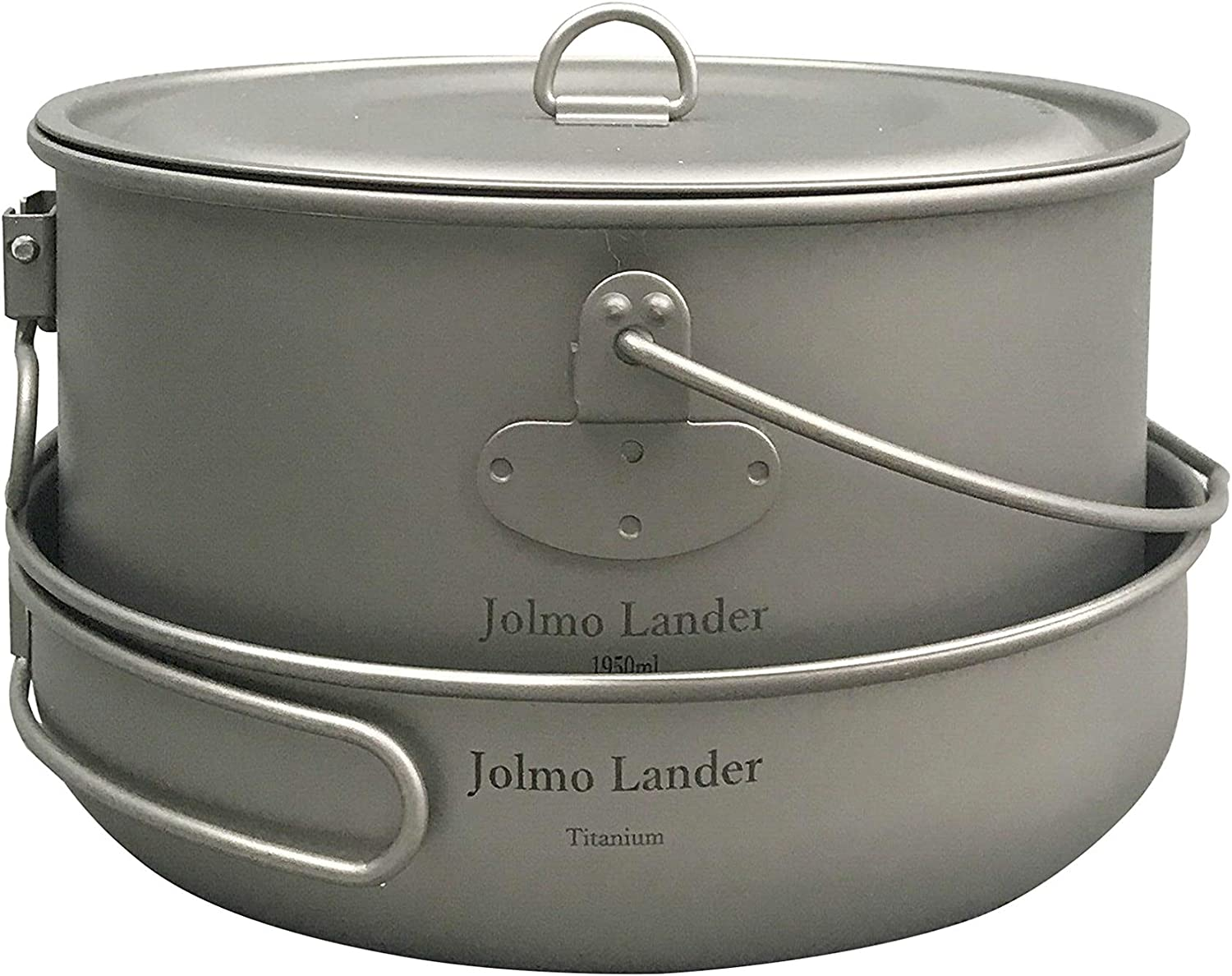 Jolmo Lander Ultralight Backpacking Camping S Pot Max 87% A surprise price is realized OFF and Frying Pan