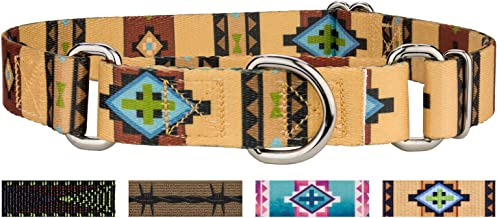 Country Brook Petz - Martingale Dog Collar - Country and Western Collection