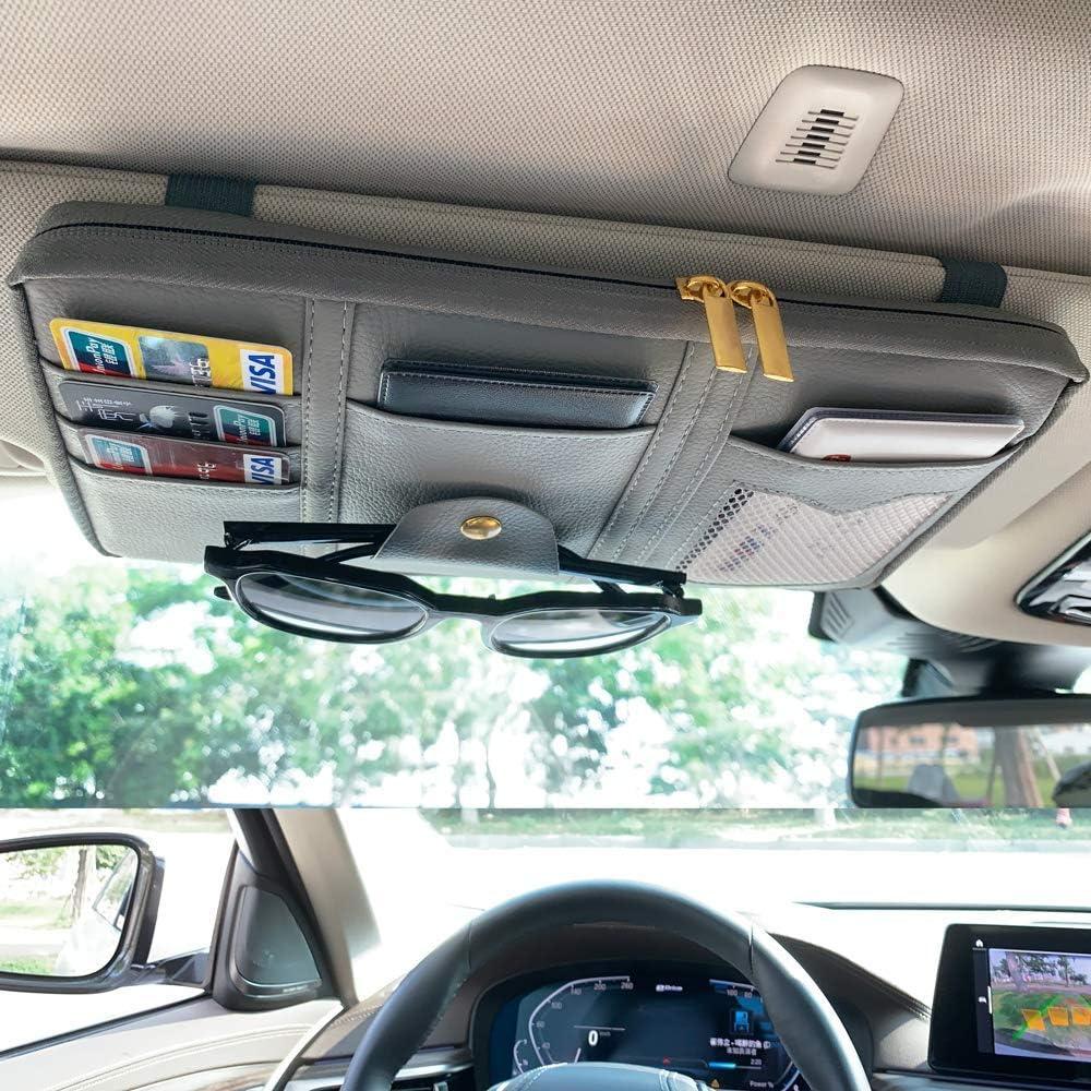 Da Cheap mail order shopping by Super special price car Visor Organizer Pockets Multiple