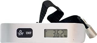 EZ Life Digital Luggage Weighing Scale 50 kg Capacity (Silver)