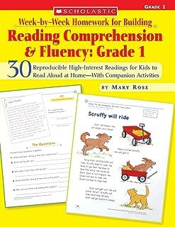 Week-by-Week Homework for Building Reading Comprehension & Fluency: Grade 1 (Week-by-Week Homework For Building Reading Comprehension and Fluency)