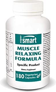 Supersmart - Muscle Relaxing Formula - Natural & Organic Supplement with Vitamin E & Magnesium - Support Healthy Joints, B...