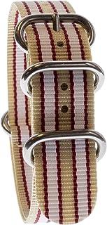 de14902cbd Yves Camani Uni Radisson Montres de 20 mm de bracelet de l'OTAN en nylon