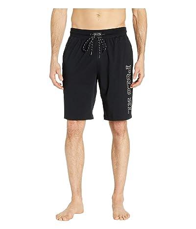 Polo Ralph Lauren Jersey Sleep Shorts (Polo Black/Nevis Polo RL) Men