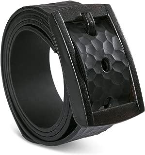 Metal-free 3D Embossed belt, Custom, Waterproof and Adjustable Cut-to-fit,Enclosed in an Elegant Gift Box