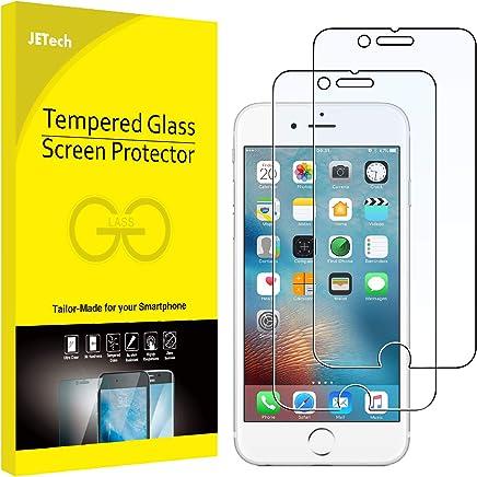 JETech Schutzfolie für iPhone 6s und iPhone 6, Gehärtetem Glas Panzerglas Displayschutzfolie, 2 Stück