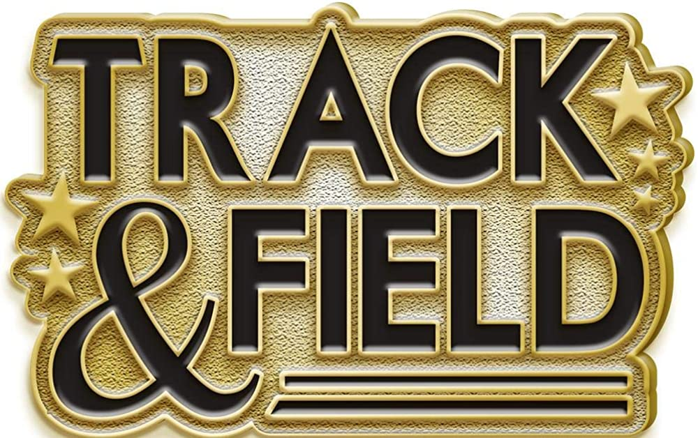 Fixed price for sale Track And Field specialty shop Lapel Button Pin