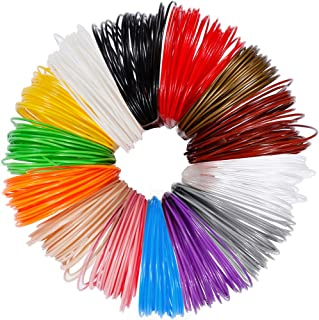 Anpro 3D Pen Filament Refills, 280 Linear Feet ,14 Colors, 20 Foot Lengths, 3D Printer ABS Filament 1.75mm 3D Printing Filament Refills for 3D Printing Pen