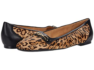 Naturalizer Parker (Dark Brown Cheetah Print/Leather) Women