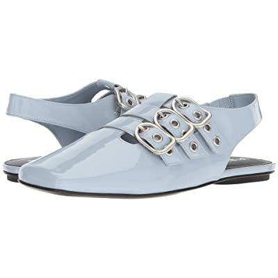 Opening Ceremony Assata Buckle Flat (Stone Blue) Women