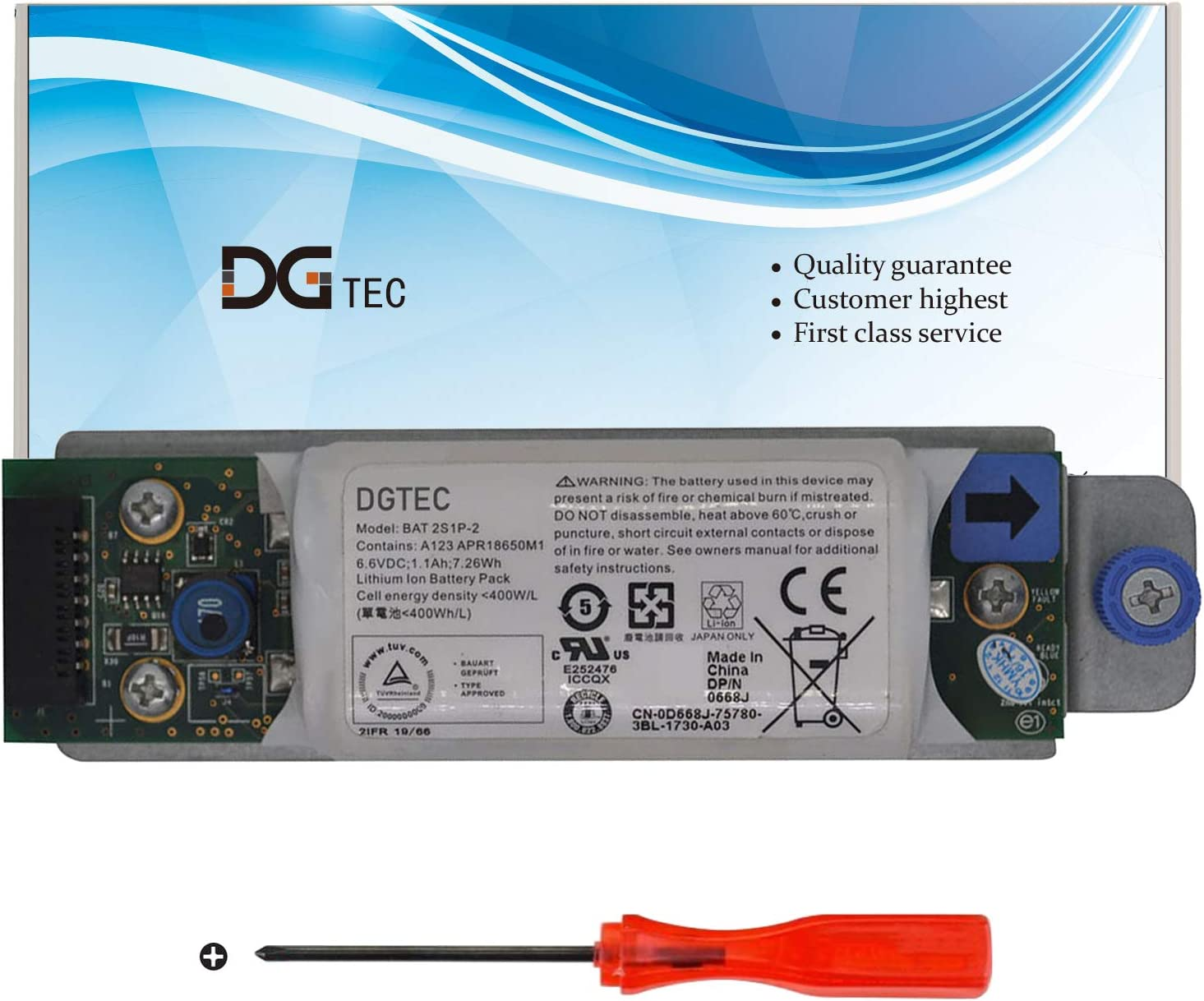 DGTEC New BAT Luxury Bombing free shipping 2S1P-2 BAT2S1P Laptop for Dell Battery Replacement