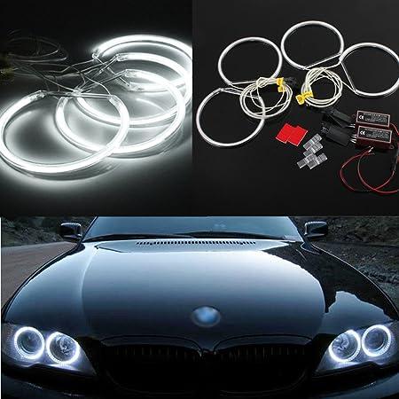 Yeego 7 Zoll Rgb Scheinwerfer Angle Eyes 7 Runde Halo Scheinwerfer Drl Bluetooth Fernbedienung Sahara Sport Rubicon Scheinwerfer 2 Jahre Garantie Auto