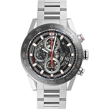 [タグ・ホイヤー] TAG HEUER 腕時計 Ref. CAR201V.BA0714 カレラ キャリバーホイヤー01 クロノグラフ 43ミリ 新品 [並行輸入品]