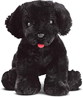 Melissa & Doug Benson Black Lab Puppy Dog (Plush Stuffed Animal, 10 inches, Great Gift for Girls and Boys - Best for Babies and Toddlers, 3 Month Olds, 1 and 2 Year Olds)