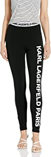 Karl Lagerfeld Paris Women's Logo-Legging