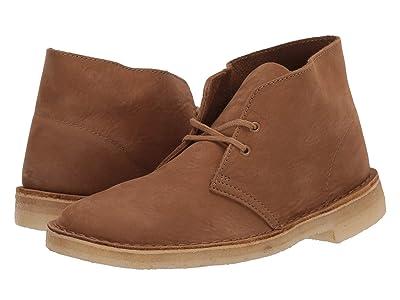 Clarks Desert Boot (Oak Nubuck) Men