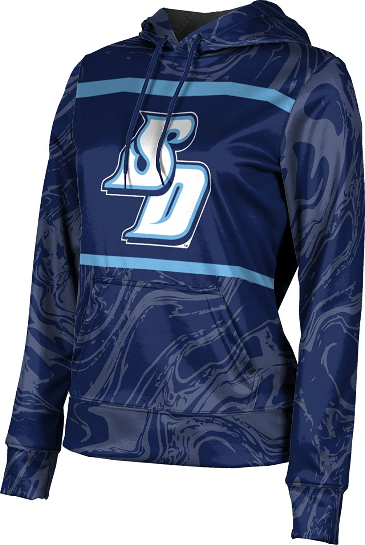 University of San Diego Girls' Pullover Hoodie, School Spirit Sweatshirt (Ripple)