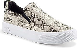أحذية رياضية حريمي من jenn-ardor بدون رباط حذاء كاجوال مثقوب / مبطن عصري مريح للمشي