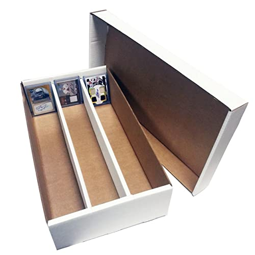 10e1e2c7e9d (2) SUPER Shoe 3 Row Storage Box (3000 Ct.) - Corrugated
