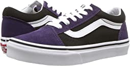 63f116fac3 Vans kids old school v toddler youth 2 tone pink purple