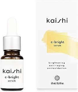 Kaishi - Sérum c-bright con antioxidantes y vitamina C para rejuvenecer la piel, 10 ml