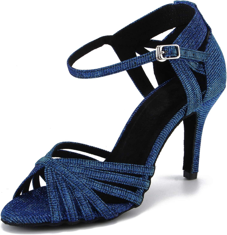 Cheery Ball Women Ballroom Dance Sandals Suede Sole