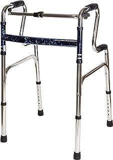 Carex Health Brands Sturdy Uplift Adjustable Walker - 6lb Adult Medical Walkers - Upright Walker Folds for Easy Storage & ...