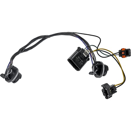 Amazon.com: Dorman 600-600 4WD Actuator Wiring Harness for Select Chevrolet  / GMC Models, Black: Automotive