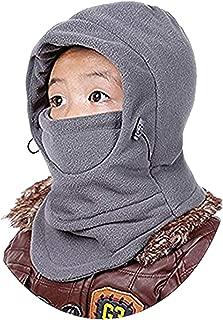 GG ST Children's Windproof Hat Winter Thick Thermal Fleece Cap Ski Mack Warm Adjustable Balaclava Hood