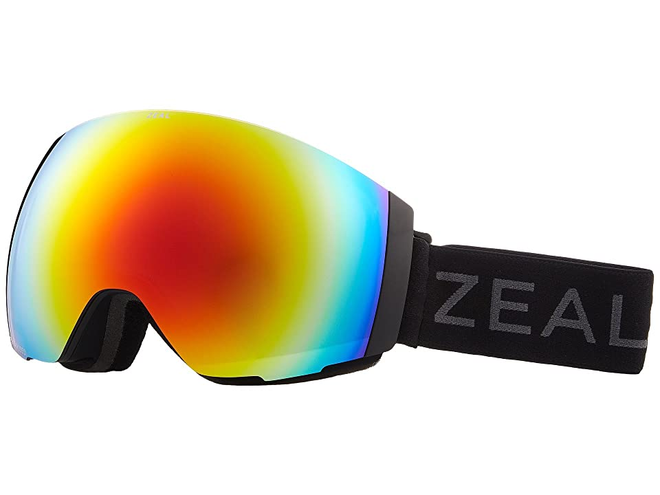 Zeal Optics Portal (Dark Night w/ Polarized Phoenix Mirror Lens + Sky Blue Mirror Le) Snow Goggles