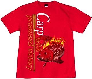 [GENJU] Tシャツ 鯉 広島 Carp 応援 野球 メンズ キッズ