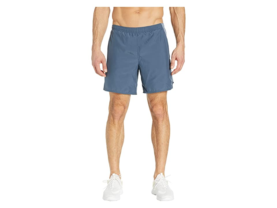 Nike Challenger Shorts 7 2-in-1 (Monsoon Blue/Armory Blue/Reflective Silver) Men