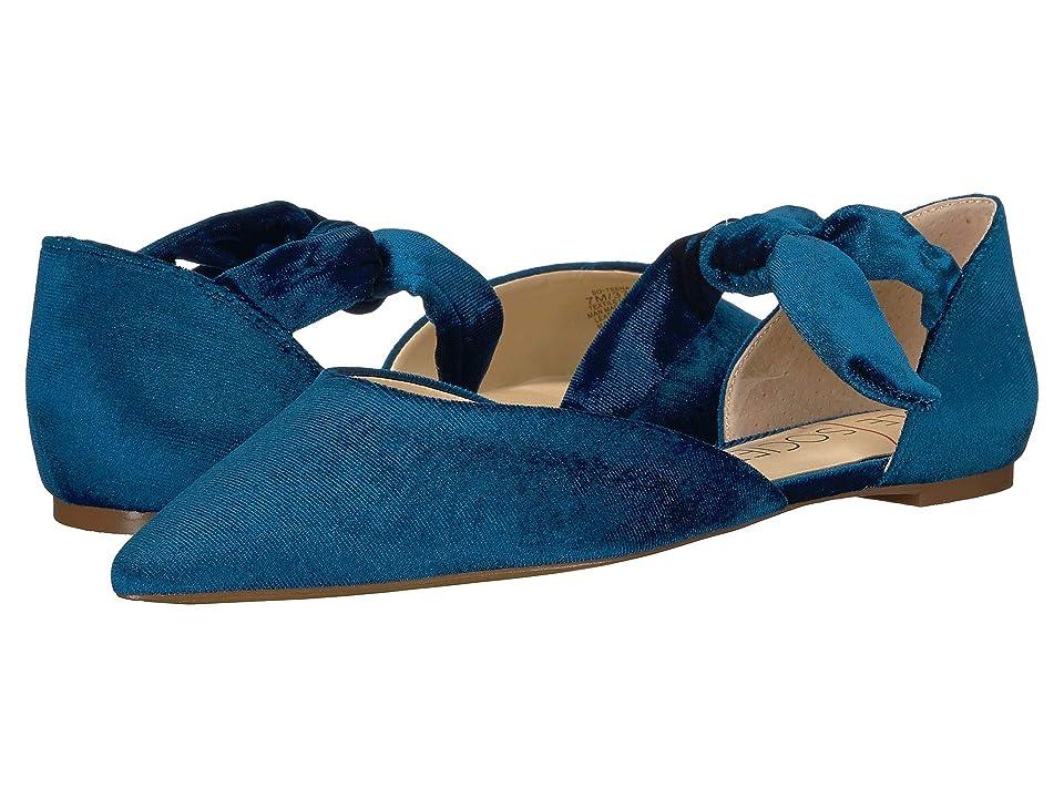 SOLE / SOCIETY Teena (Cerulean Blue Portugal Velvet) Women