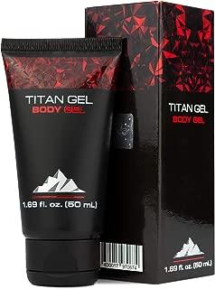 Titan Gel for Man Original Gold Body Gel for Healing, Awakening Muscles with Tantric Massage – Natural Massaging Jelly Gel for Men, Tantra Art Beginners, Vitality