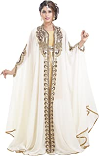 Simple Halloween Party Wear Kaftan Dress Perfect for Any Festive Occasion 6528