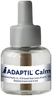 Adaptil Dog Calming Diffuser Refill (1 Pack, 48 ml) | | Vet Recommended | Reduce Problem Barking, Chewing, Separation...