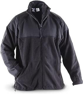 Black Polartec Fleece Jacket