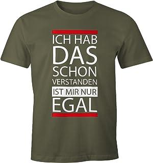 ac949080bd8e88 MoonWorks lustiges Herren T-Shirt - Ich Hab Das Schon Verstanden, ist Mir  Nur