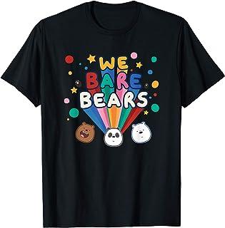 Cartoon Network We Bare Bears Stars T-Shirt