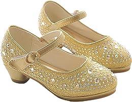 Eleasica Fille Chaussures de Princesse Princesse E