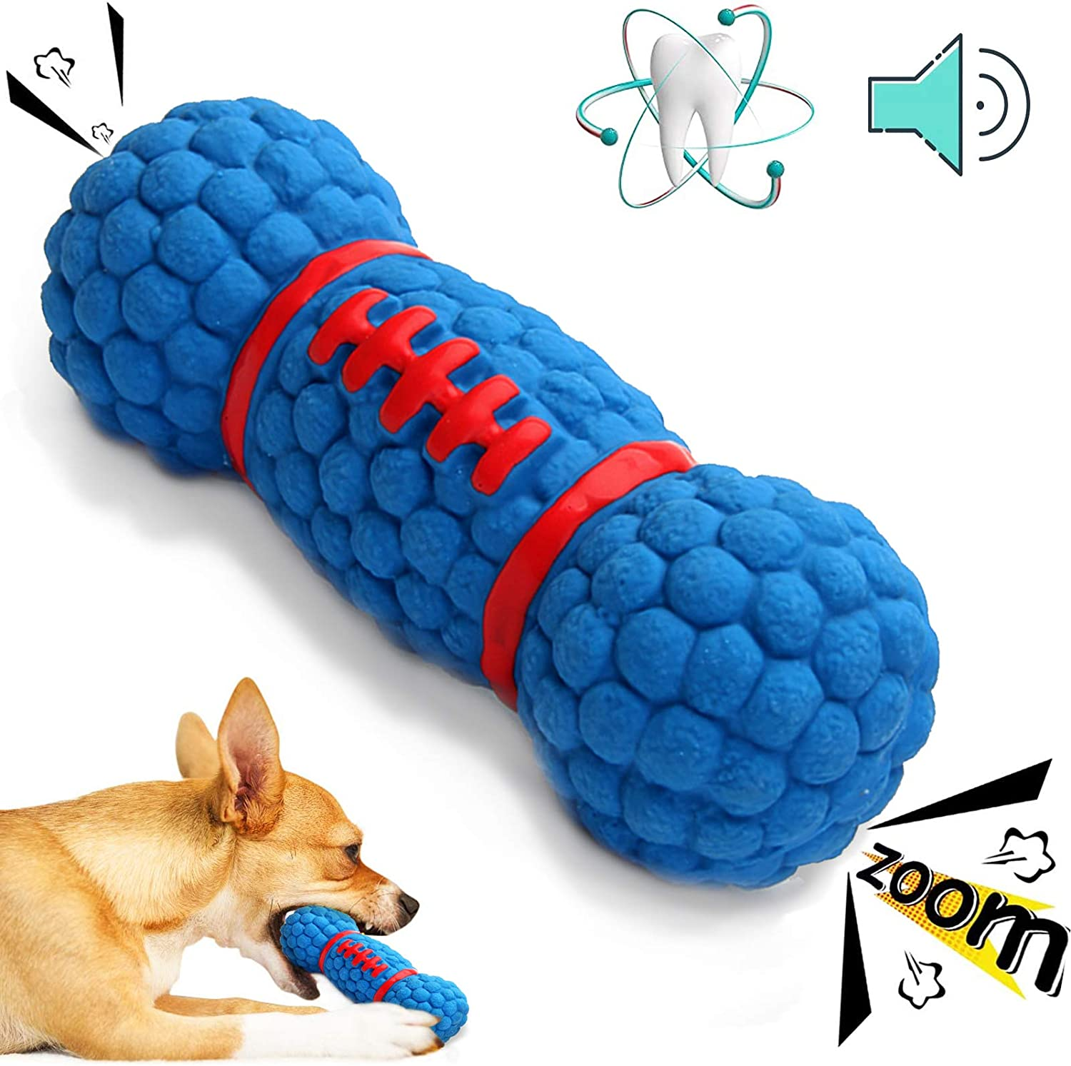 YoYabon Discount is also underway Squeaky Dog mart Toys Durable T Interactive Chew Toy