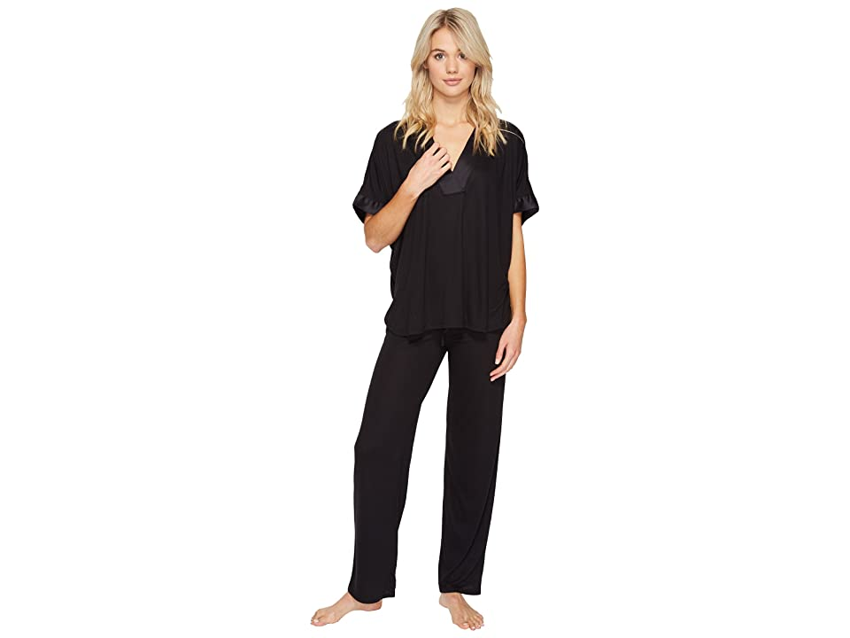 N by Natori Congo PJ Set (Black) Women