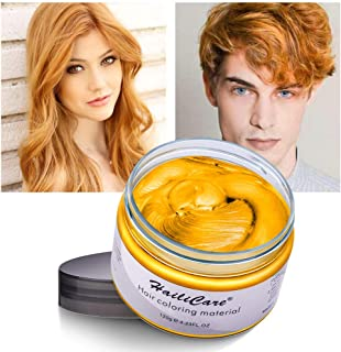 Temporary Hair Color Dye One Day Hair Color Temporary Hair Color Hair Wax Color for Men Kids Hair Dye for Halloween Party ...