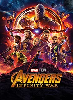 AWDIP Official Avengers Infinity War Maxi Poster 91.5 x 61 Centimeters Iron Man Hulk Thanos Ultr