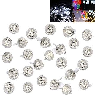 LED Balloon Light, 100pcs LED Mini Round Ball Balloon Light LED Mini Party Light Miniature Light Bulbs for Paper Lantern B...