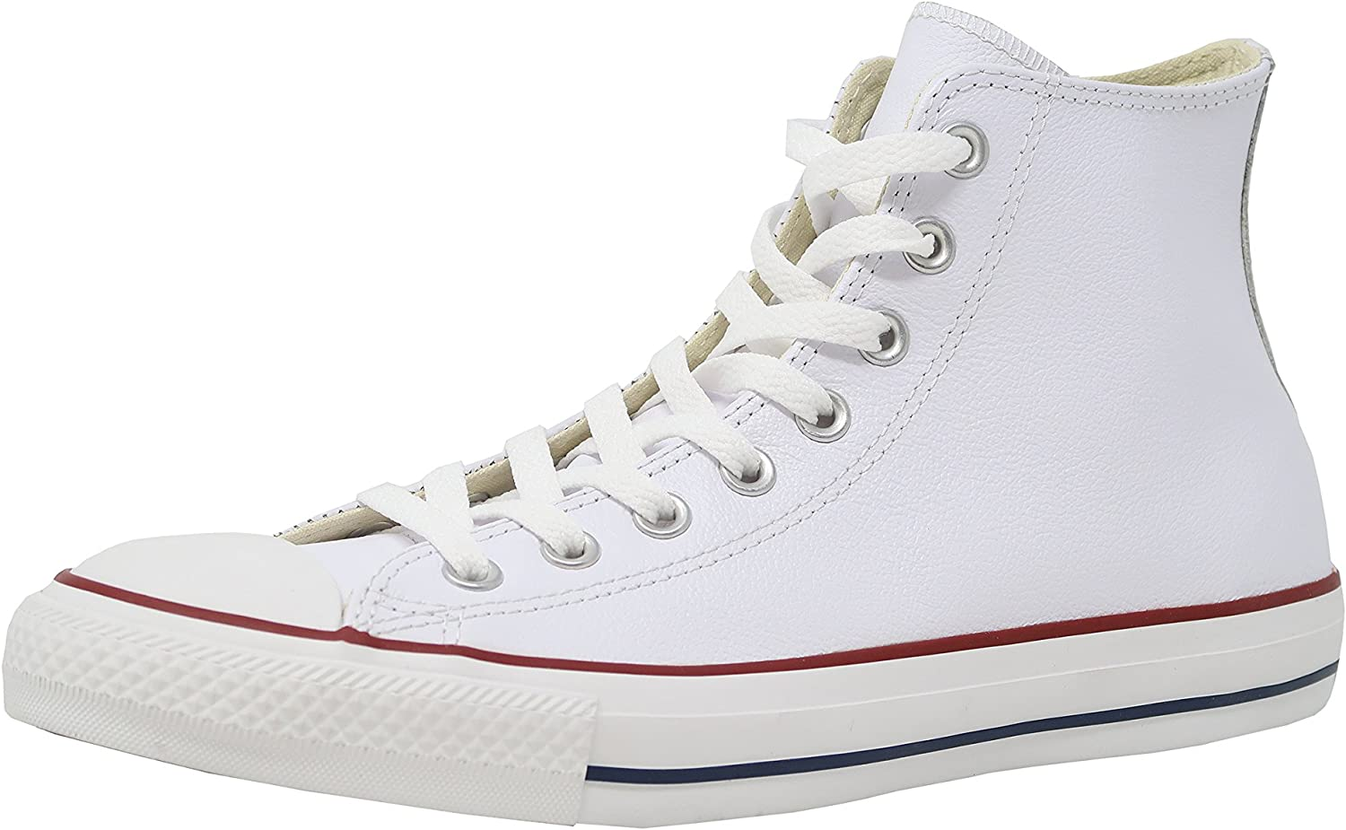 Converse Chuck Taylor All Star Hi Top White Leather 132169C