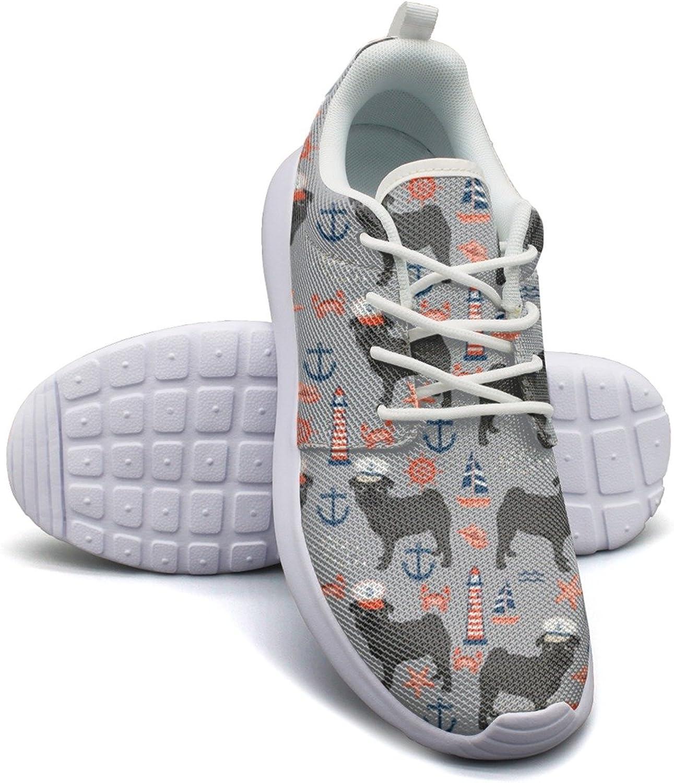 ERSER Nautical Captain Pug Dog Cool Running shoes Women