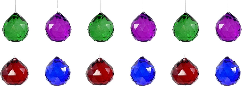 WorldaWhirl Crystal Ball Sun Ranking TOP9 Austin Mall Catcher Prism Glass Shui Orbs Feng