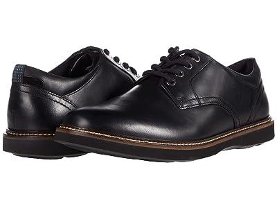 Nunn Bush Ridgetop Plain Toe Oxford (Black) Men