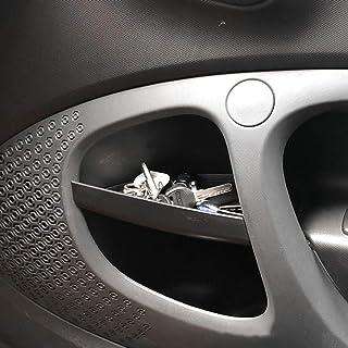 DIYUCAR Für Benz Smart 453 Fortwo 2015–2019 Autotürgriff Aufbewahrungsbox, Behälter, Handschuh Organizer, Innenzubehör